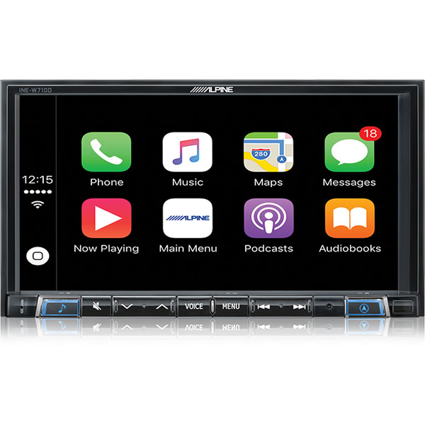 Alpine Mazda CX7-702D Apple CarPlay Android Auto Bluetooth for MAZDA -