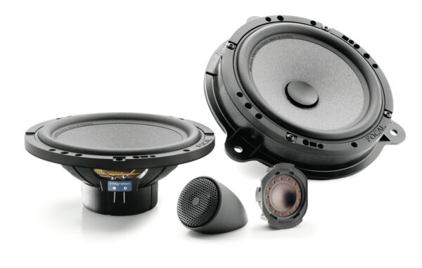 FOCAL ISRNS165 2-Way Coaxial Speaker Kit for Renault -