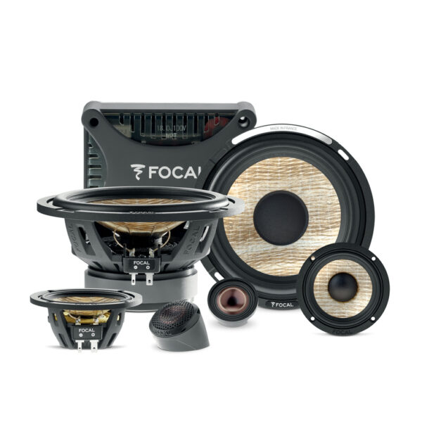 """FOCAL PS165F3E 16.5CM (6"""") AND 8CM (3"""") 3-WAY COMPONENT KIT -"""