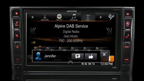 Alpine MERC-X800D-V447 8″ DAB+/DVD/USB/HDMI/Bluetooth Advanced Navi Station for Mercedes Vito -
