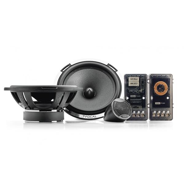 FOCAL PS165 V1 2-WAY COMPONENT KIT – 6'' (16,5CM) WOOFER Car Audio Bundle -