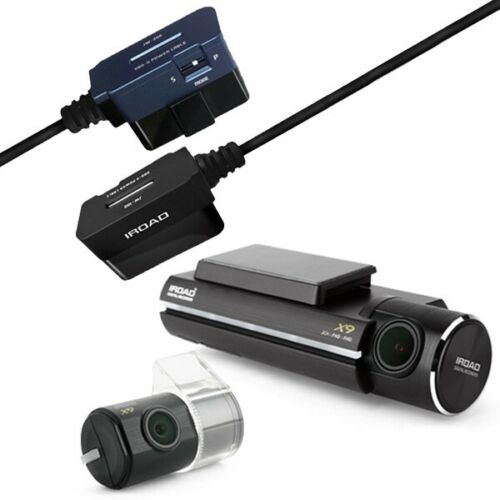 IROAD X9 Car Camera Bundle -