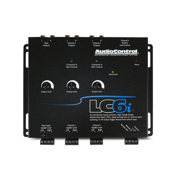 AUDIOCONTROL AC-LC6I 6-CHANNEL ACTIVE LINE OUT CONVERTER -