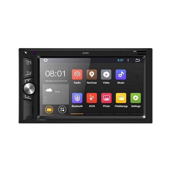 """AXIS AX1860NAV 6.2"""" HD Apple CarPlay Android Auto & HEMA Mapping Head Unit -"""
