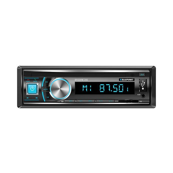 Blaupunkt BRISBANE 240 Single Din Mechless MultiMedia Receiver With Bluetooth -