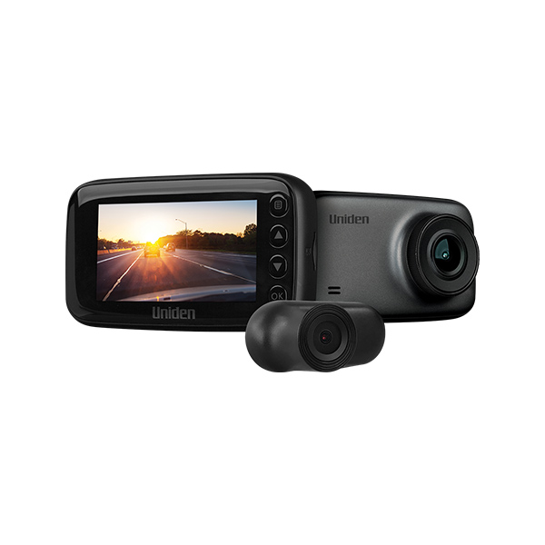 UNIDEN CAM70R Dual DASH Camera -