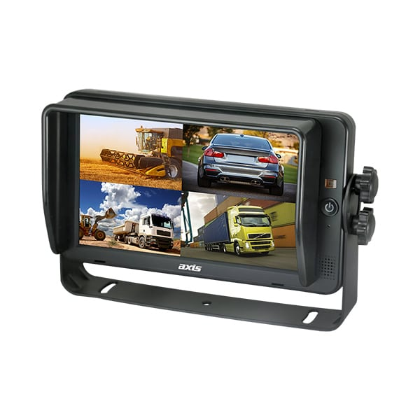 """AXIS 7"""" MONITOR HD QUADVIEW TOUCHSCEEN FOR REVERSING SAFETY -"""