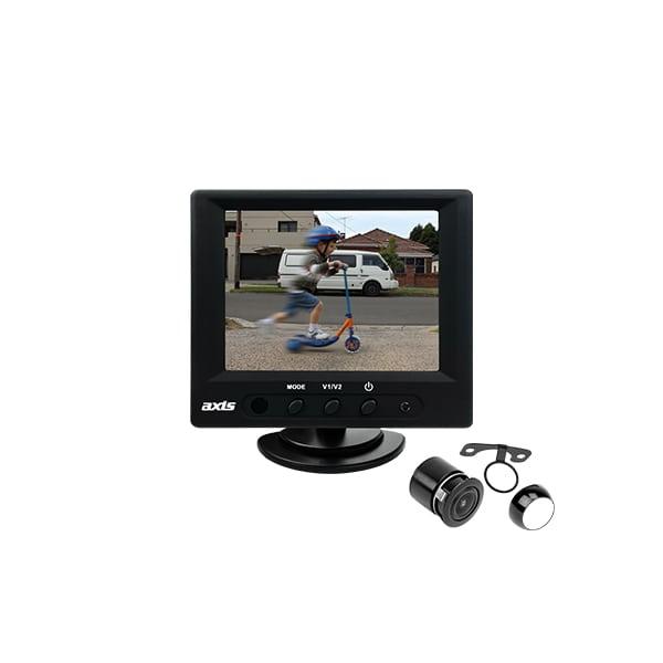 "AXIS JS035K – Series 1 3.5"" REARVIEW CAMERA KIT -"