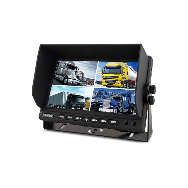 """AXIS JS7040 7"""" QUAD LED REARVIEW MONITOR -"""
