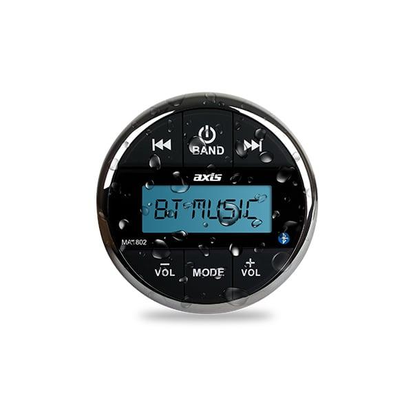 AXIS MA1802 MARINE AM/FM BLUETOOTH MULTIMEDIA SYSTEM -