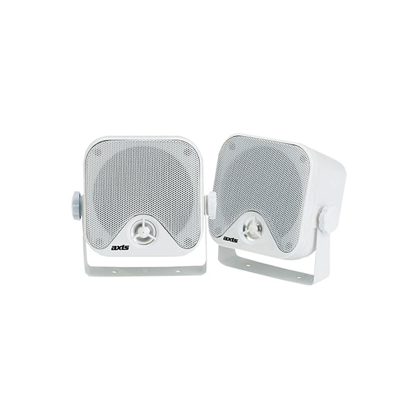 "AXIS MA442 2-WAY BOX 4"" MARINE SPEAKERS -"
