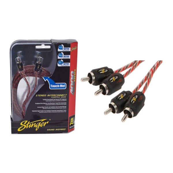 STINGER SI4217 2-CHANNEL RCA INTERCONNECTS -