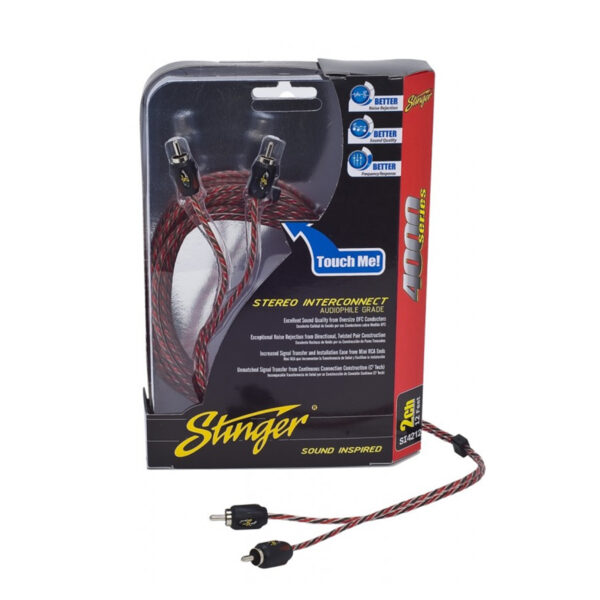 STINGER SI423 2-CHANNEL RCA INTERCONNECTS -