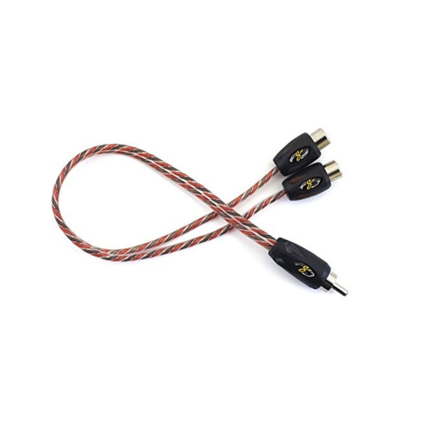 STINGER SI42YF 2-CHANNEL 4000 SERIES RCA Y-ADAPTER CABLE -