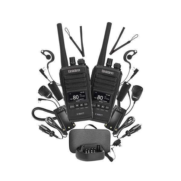 UNIDEN UH755-2DLX LAND HANDHELD RADIO -
