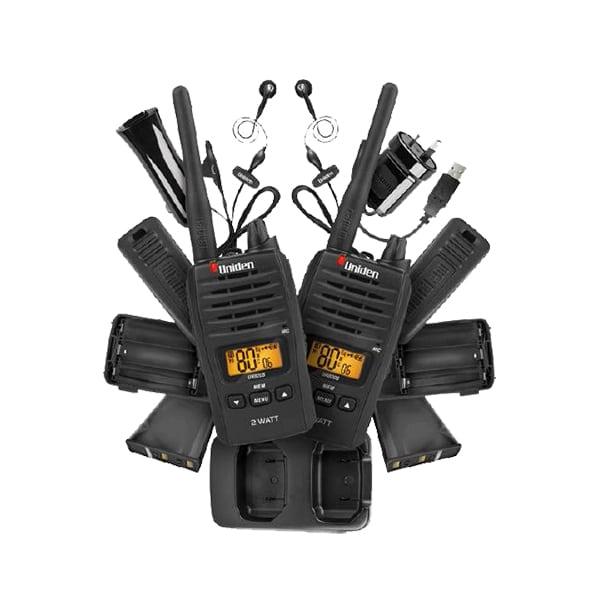 UNIDEN UH820S-2 LAND HANDHELD RADIO -