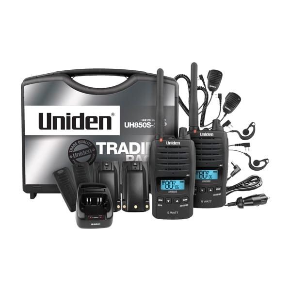 UNIDEN UH850S-2TP LAND HANDHELD RADIO -