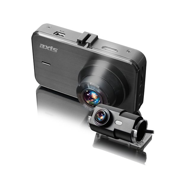 AXIS ZOOM+2 Front & Rear Camera -