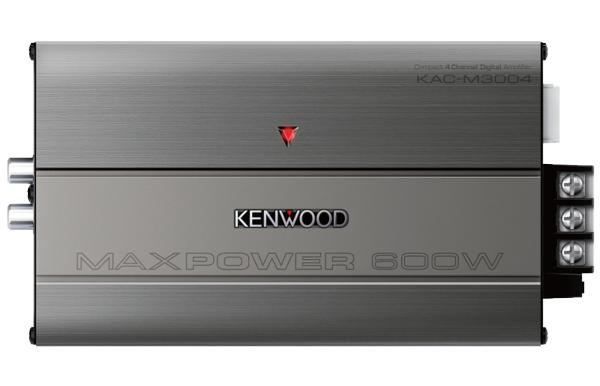 KENWOOD KAC-M3004 MARINE 4 Channel Digital Amplifier -