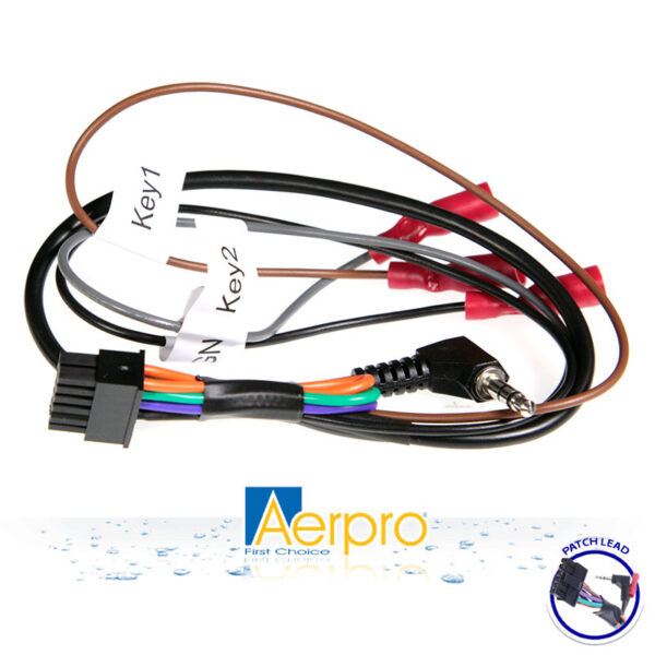 AERPRO APUNIPL2 TYPE C PATCH LEAD UNIVERSAL WITH SELF LEARN -