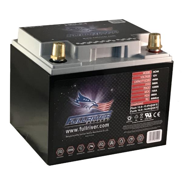 FULLRIVER HC44 - (PC1200) HC SERIES 12V 560AH ADVANCED AGM DUAL-PURPOSE BATTERY -