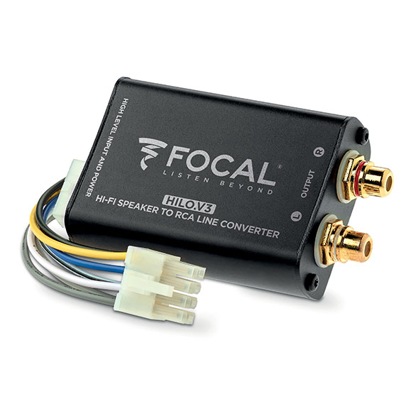FOCAL HILO V3.0 STEREO AMPLIFIED SIGNAL CONVERTER -