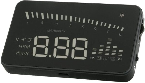 """SCOSCHE HUD2 3"""" Heads-up Multi-Color LED Display for any Vehicle with an OBD-II Interface -"""