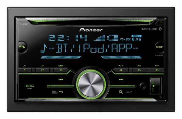 PIONEER FH-S705BT Mechless Receiver Compatible with Apple CarPlay and Android Auto -