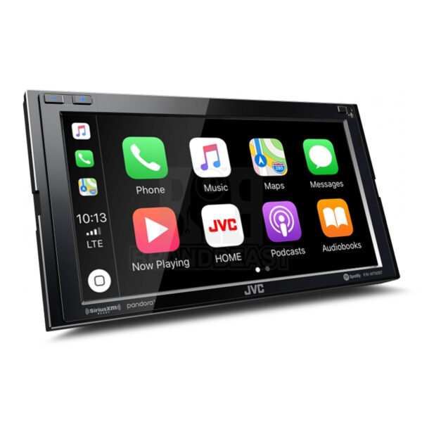 "JVC KW-M750BT 6.8"" MECHLESS RECEIVER W/ APPLE CARPLAY/ANDROID AUTO/BT -"