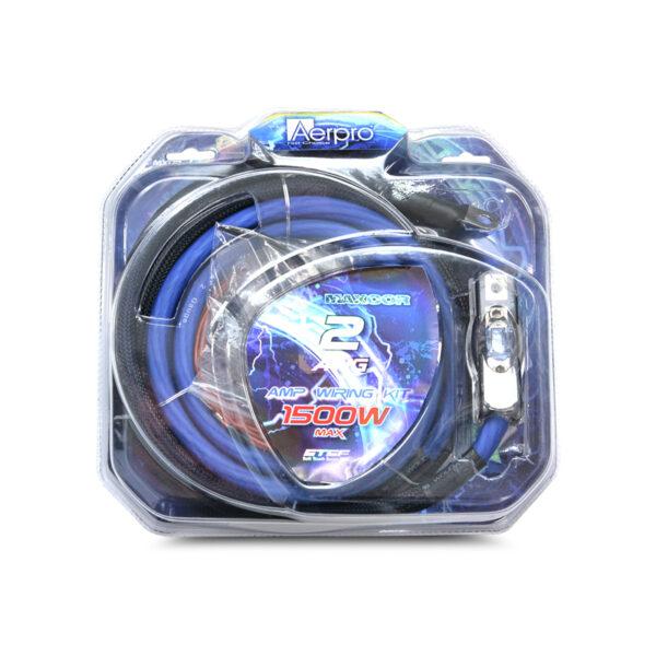 AERPRO MX02 MAXCOR 2AWG AMP POWER INSTALL KIT -