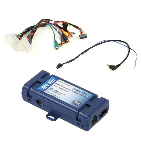PAC RP4NI11 RADIOPRO4 RADIO REPLACEMENT INTERFACE FOR NISSAN -