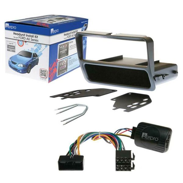 AERPRO FP9141K SINGLE DIN INSTALL KIT SUIT FORD FALCON AU SERIES 2/3 -