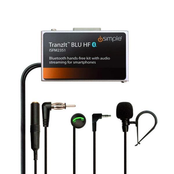 ISIMPLE PACISFM2351 TRANZIT BLU HF AUDIO & HANDS FREE FM MODULATOR -