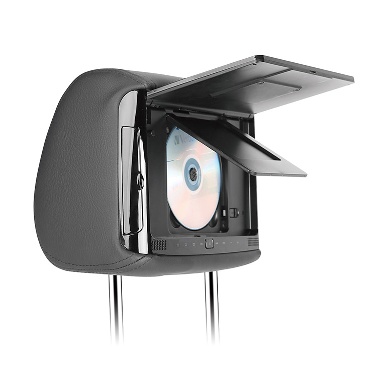 HiTV V900 9 inch Universal Structure In-Car DVD Headrest Plus Smart TV -