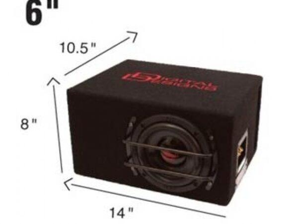 """DD Audio LE-M06-D2 6.5"""" Subwoofer Enclosure -"""