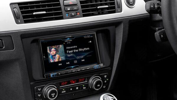 "Alpine BMW 3 Series BM3A-702D 7"" APPLE CARPLAY/ ANDROID AUTO/ DAB+/RDS/HDMI/FLAC/MP3/WMA/AAC/USB/ BLUETOOTH -"