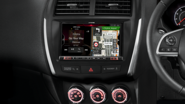 "Alpine NISSAN 4008-X308AU 8"" Apple CarPlay / Android Auto / Primo 3.0 Navigation / HDMI / Bluetooth / DAB+ Receiver -"