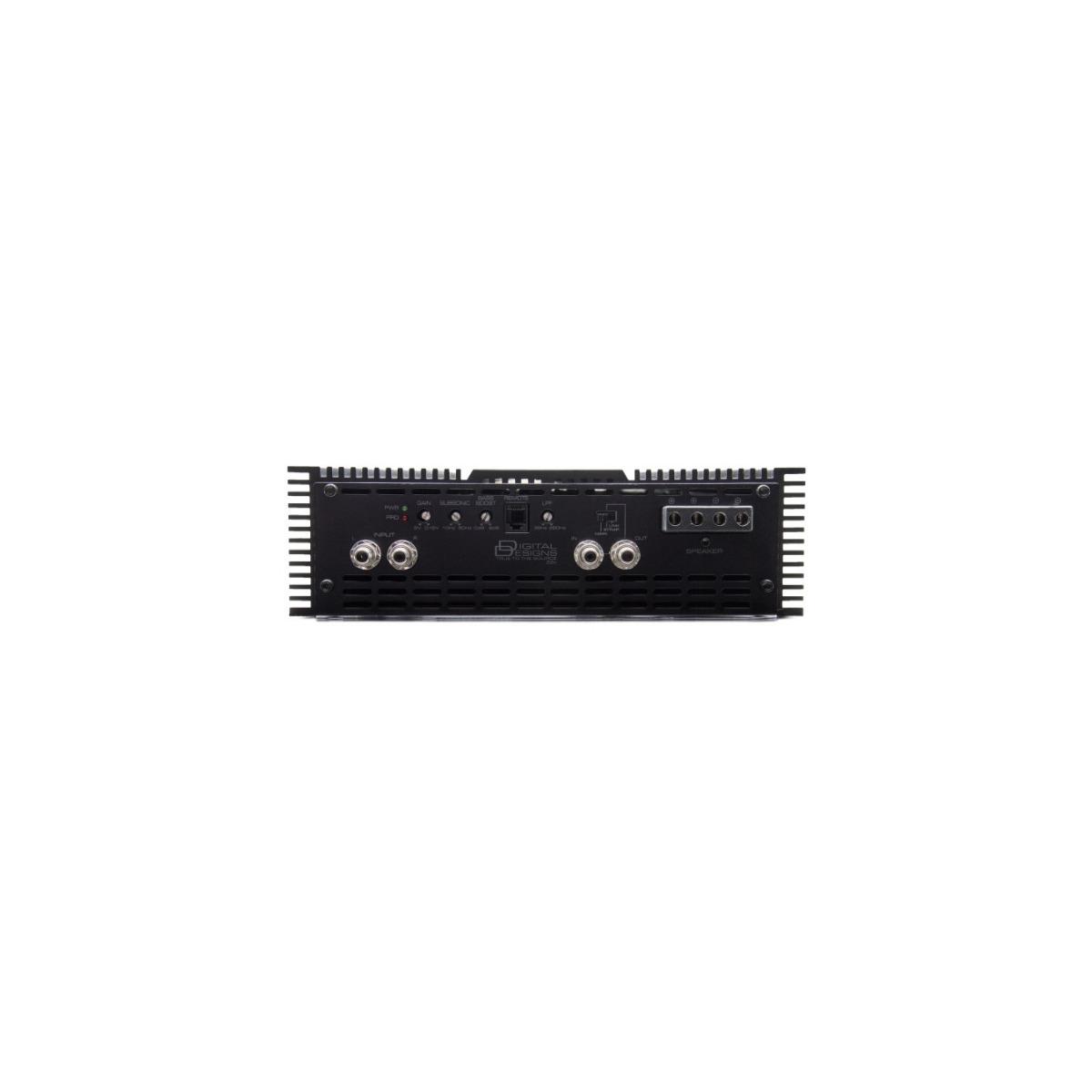 DD Audio Z2B Amplifier -