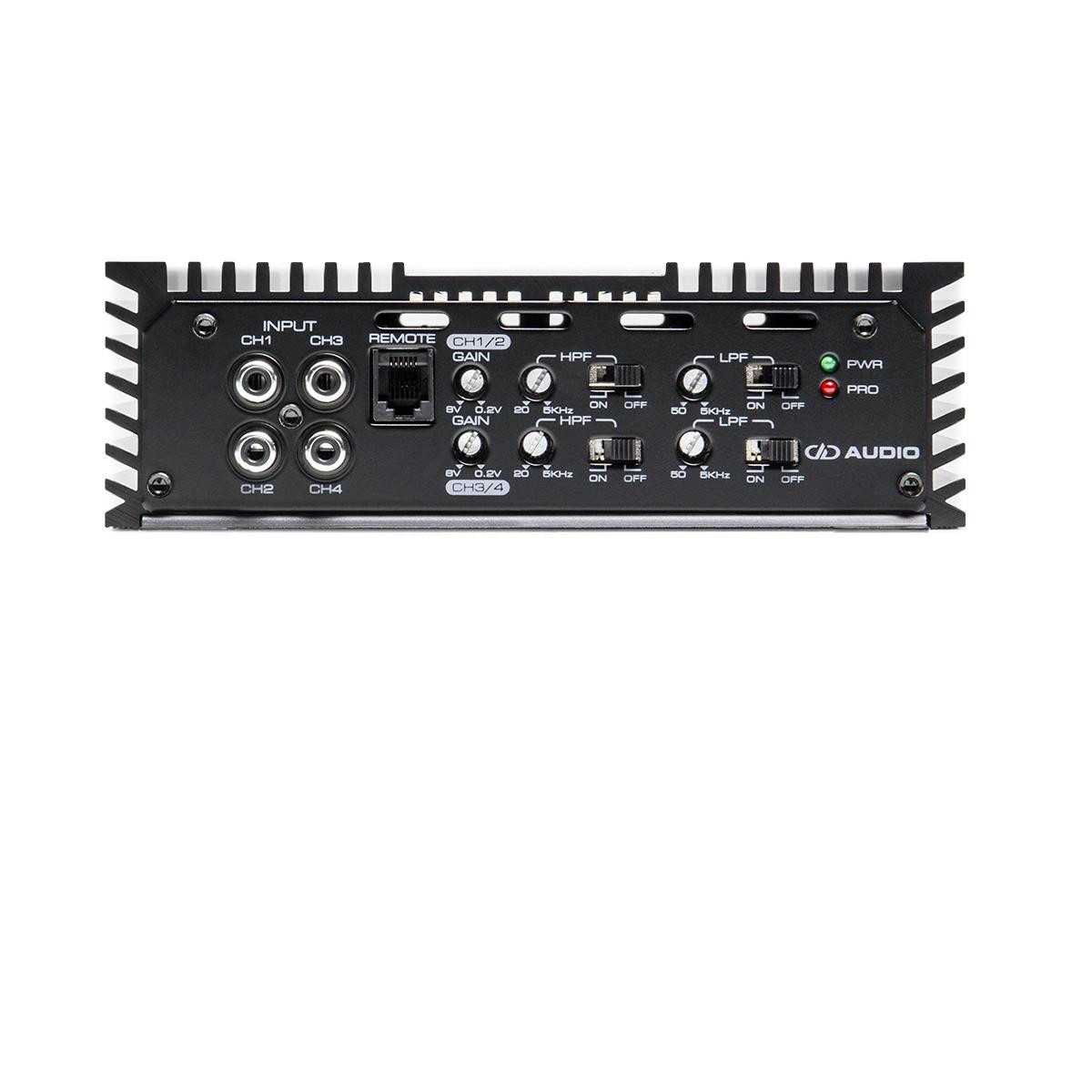 DD Audio SS4B Amplifier -