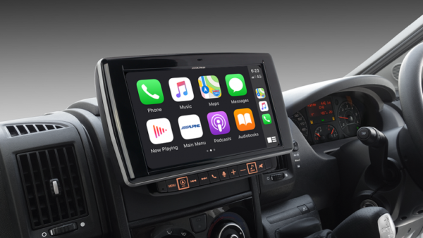 """Alpine FIAT DUCATO 3RD GENERATION i902D-DU-FNV 9"""" Infotainment Navigation System with Apple CarPlay and Android Auto suitable for Fiat Ducato -"""