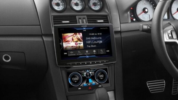 """Alpine HOLDEN VE COMMODORE PFK-VES1G3-F309E Halo9 9"""" Apple CarPlay / Android Auto / HDMI / USB / Bluetooth / FLAC / DAB+ Receiver with VE 7″ Dynamic Drive Assist Sports Display / HVAC Controller for VE Commodore Series-1 SS/SSV/SV6/Calais/Berlina/HSV -"""