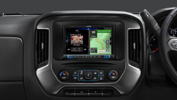 "Alpine GM TRUCKS GMK2-X308AU 8"" Apple CarPlay / Android Auto / Primo 3.0 Navigation / HDMI / Bluetooth / DAB+ Receiver -"
