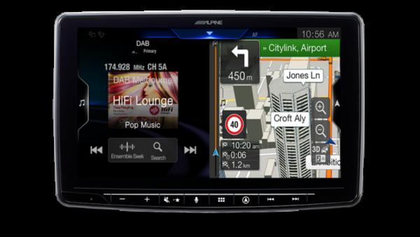 "Alpine HOLDEN VE COMMODORE SPORT PFK-VES2G1B-F409 9"" Apple CarPlay / Android Auto / Primo 3.0 Navigation / HDMI / USB / Bluetooth / FLAC / DAB+ Receiver -"