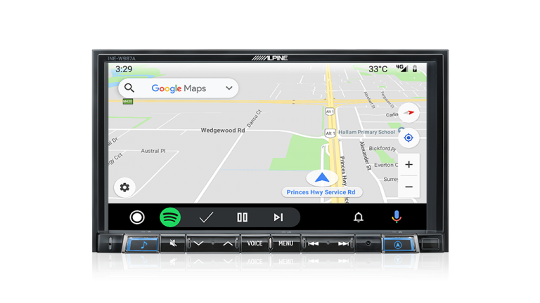 "Alpine PEUGEOT B308RCZ-W987A 7"" Apple CarPlay / Android Auto / Primo 3.0 Navigation / HDMI / USB / Bluetooth / FLAC / DAB+ Receiver -"