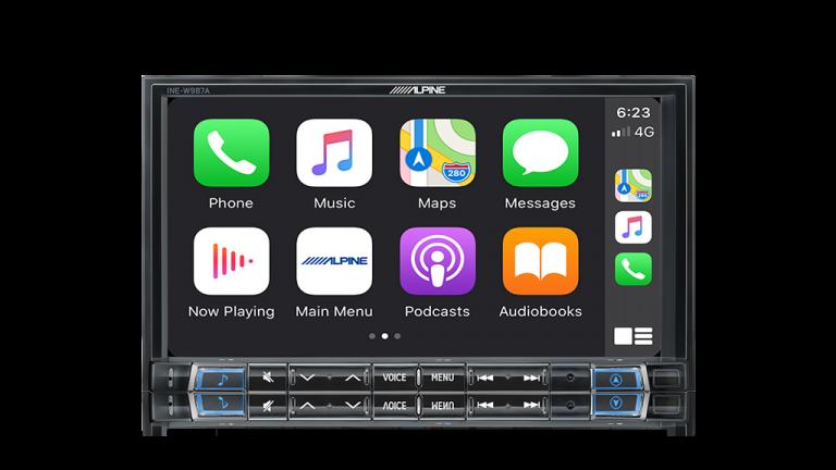 "Alpine HOLDEN CRUZE-W987A 7"" Apple CarPlay / Android Auto / Primo 3.0 Navigation / HDMI / USB / Bluetooth / FLAC / DAB+ Receiver -"