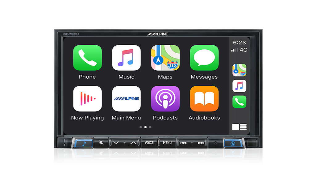 """Alpine HOLDEN VE COMMODORE PFK-VES1G3-W987A 7"""" Apple CarPlay / Android Auto / Primo 3.0 Navigation / HDMI / USB / Bluetooth / FLAC / DAB+ Receiver -"""
