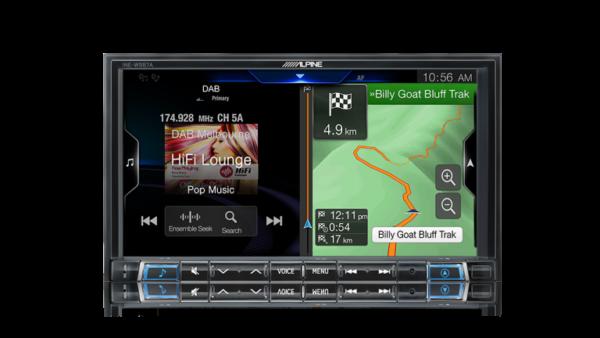 "Alpine FORD RANGER PX RANGER-W987A 7"" Apple CarPlay / Android Auto / Primo 3.0 Navigation / HDMI / USB / Bluetooth / FLAC / DAB+ Receiver -"