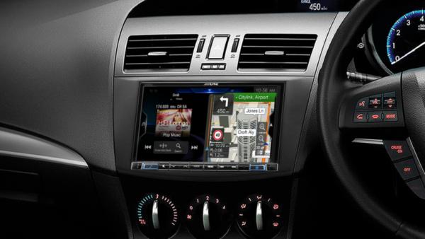 "Alpine MAZDA3-X308AUA 8"" Apple CarPlay / Android Auto / Primo 3.0 Navigation / HDMI / Bluetooth / DAB+ Receiver -"