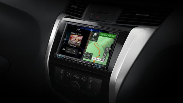 "Alpine NISSAN NAVARA-W987ADXRX 7"" Apple CarPlay / Android Auto / Primo 3.0 Navigation / HDMI / USB / Bluetooth / FLAC / DAB+ Receiver -"