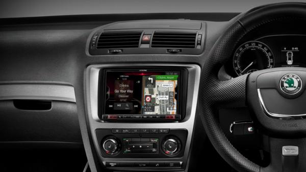 "Alpine SKODA OCTAVIA II VW-BKT-X308AU 8"" Apple CarPlay / Android Auto / Primo 3.0 Navigation / HDMI / Bluetooth / DAB+ Receiver -"